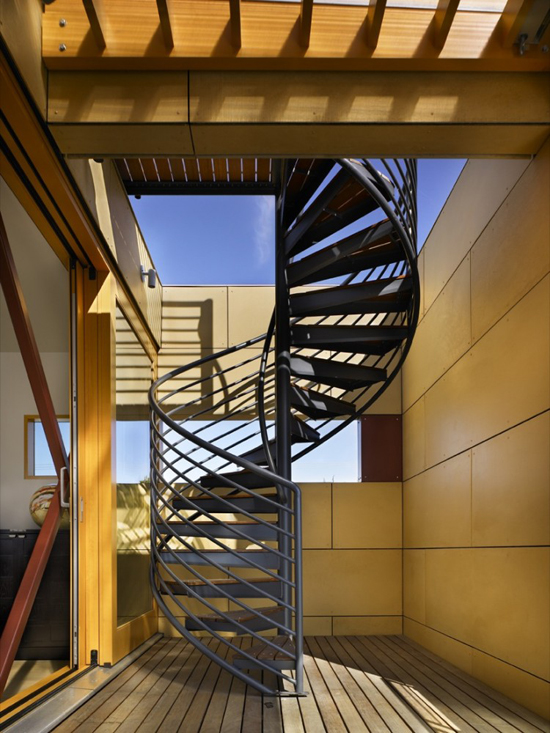 black-metal-spiral-staircase