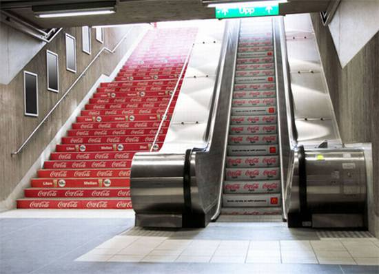 coca-cola-staircase-ads